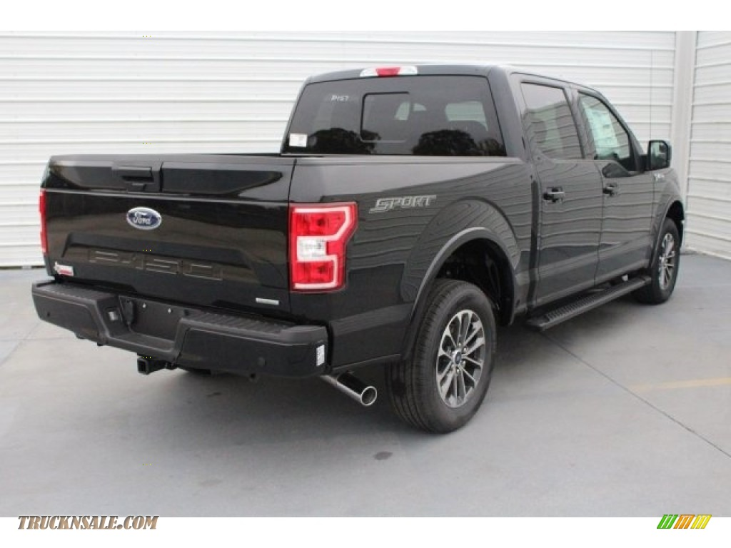 2018 F150 XLT SuperCrew 4x4 - Shadow Black / Black photo #9