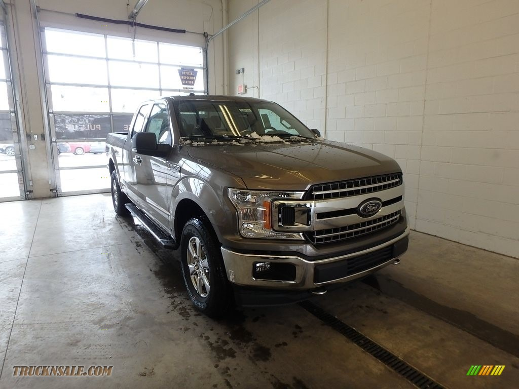 2018 F150 XLT SuperCab 4x4 - Stone Gray / Earth Gray photo #1