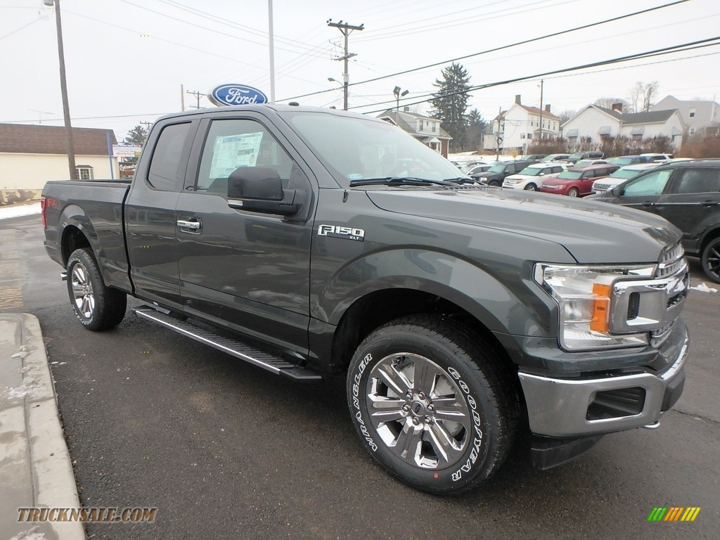 2018 F150 XLT SuperCab 4x4 - Guard / Earth Gray photo #3