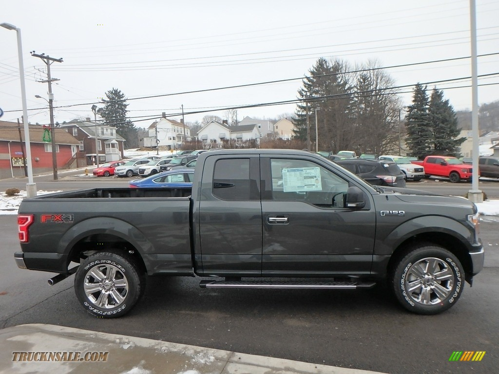 2018 F150 XLT SuperCab 4x4 - Guard / Earth Gray photo #4