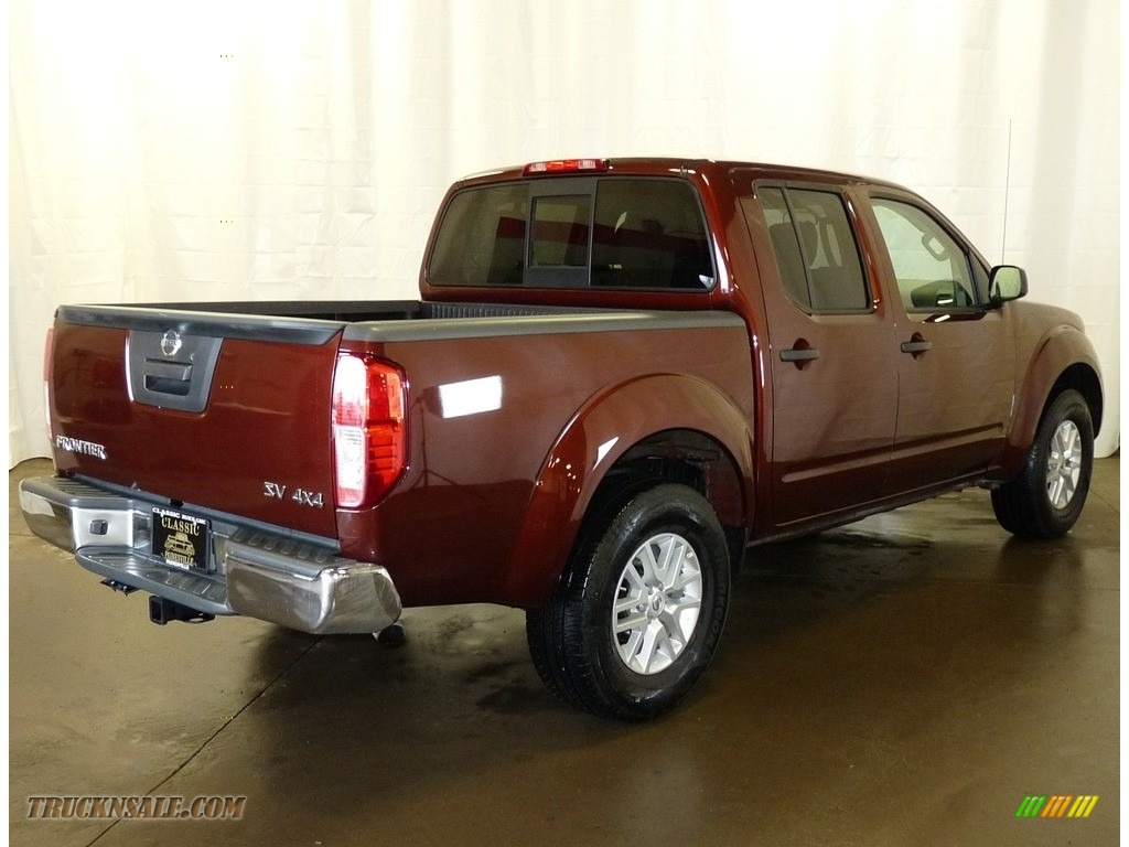 2017 Frontier SV Crew Cab 4x4 - Forged Copper / Steel photo #2