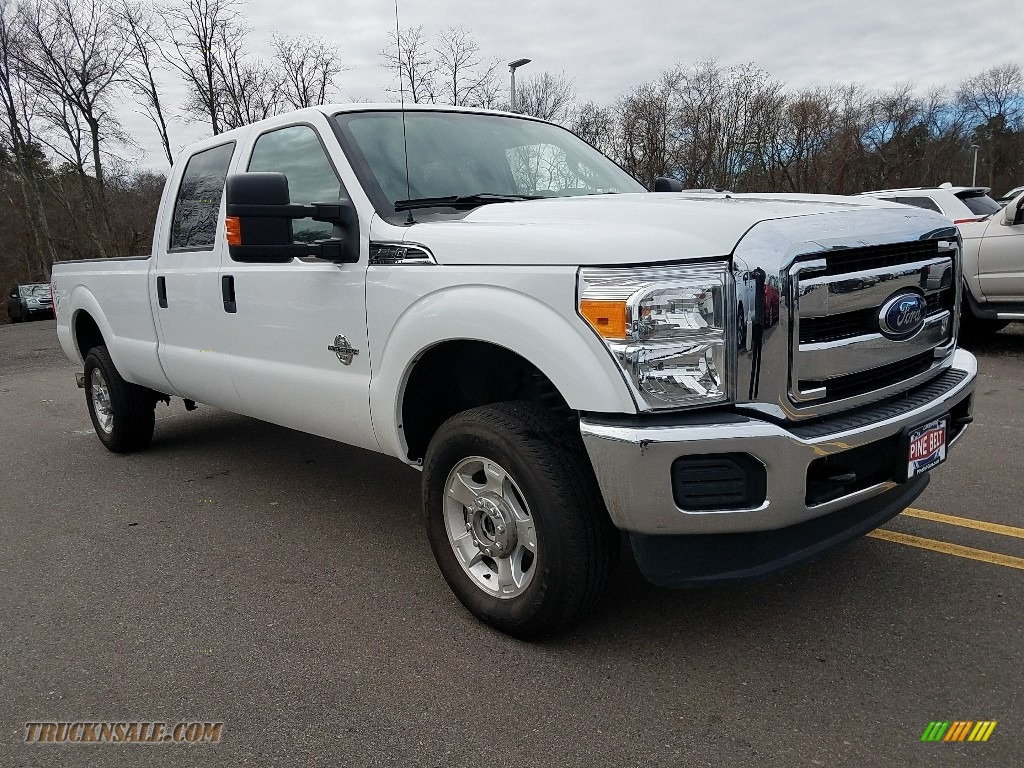 2016 F250 Super Duty XLT Crew Cab 4x4 - Oxford White / Steel photo #1