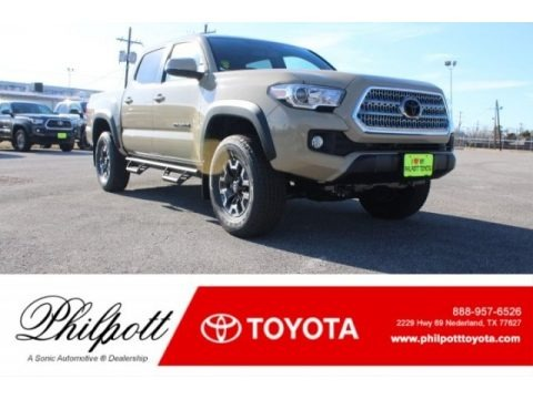 Quicksand 2017 Toyota Tacoma TRD Off Road Double Cab 4x4
