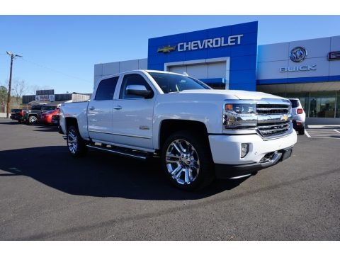 Iridescent Pearl Tricoat 2018 Chevrolet Silverado 1500 High Country Crew Cab 4x4