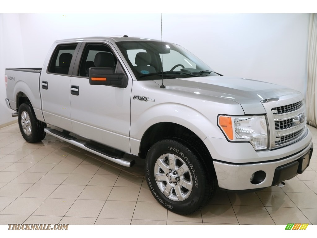 Ingot Silver / Steel Grey Ford F150 XLT SuperCrew 4x4