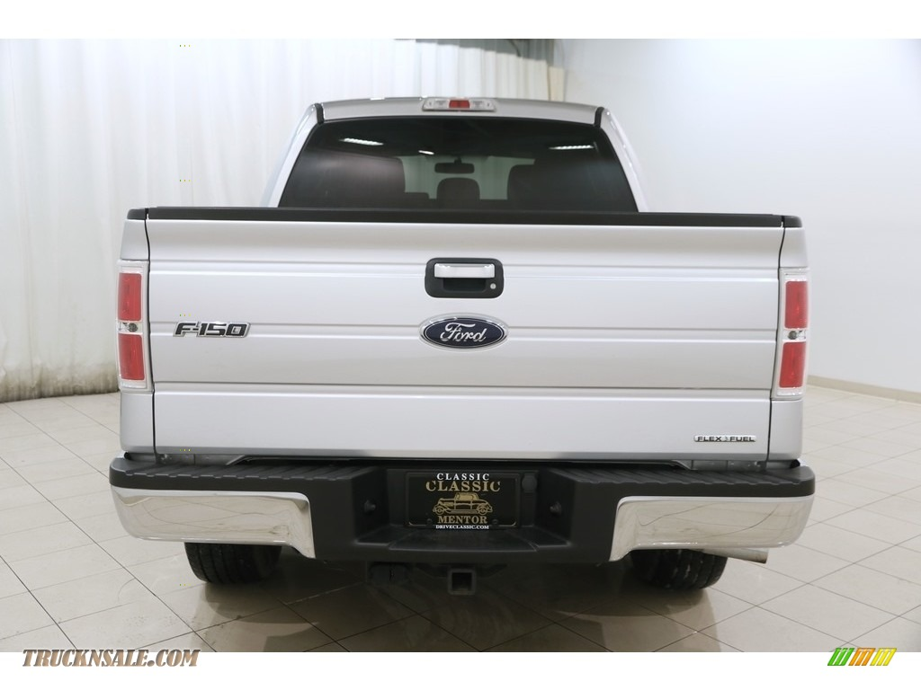 2014 F150 XLT SuperCrew 4x4 - Ingot Silver / Steel Grey photo #16