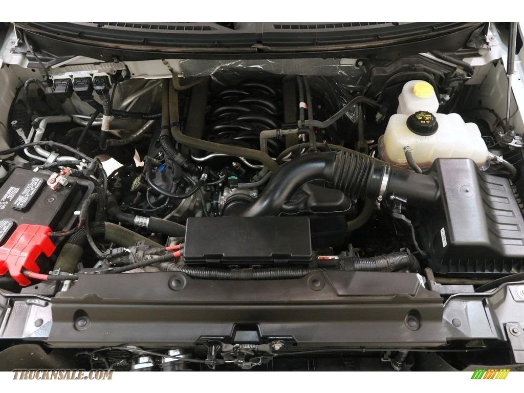 2014 F150 XLT SuperCrew 4x4 - Ingot Silver / Steel Grey photo #17