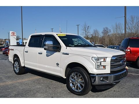 Oxford White 2015 Ford F150 King Ranch SuperCrew 4x4