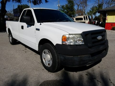 Oxford White 2007 Ford F150 XL Regular Cab