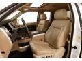 Ford F150 Lariat SuperCab 4x4 White Platinum Metallic Tri-Coat photo #11