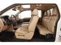 Ford F150 Lariat SuperCab 4x4 White Platinum Metallic Tri-Coat photo #30
