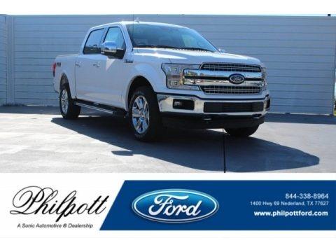 Oxford White 2018 Ford F150 Lariat SuperCrew 4x4