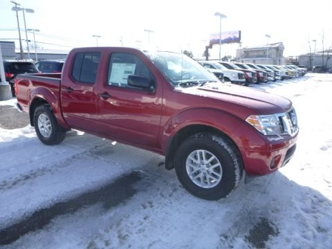 Lava Red 2018 Nissan Frontier SV Crew Cab 4x4