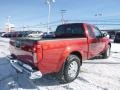Nissan Frontier SV King Cab 4x4 Lava Red photo #2