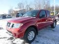 Nissan Frontier SV King Cab 4x4 Lava Red photo #6