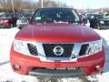 Nissan Frontier SV King Cab 4x4 Lava Red photo #7