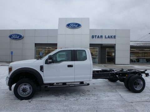 Oxford White 2018 Ford F450 Super Duty XL SuperCab 4x4