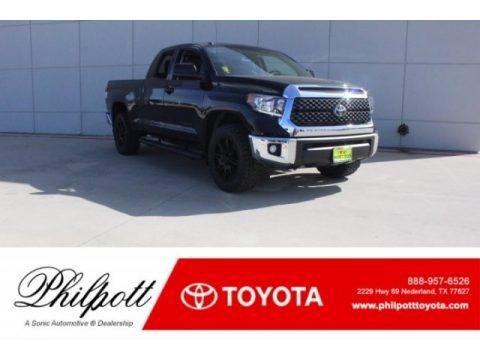 Midnight Black Metallic 2018 Toyota Tundra SR5 Double Cab