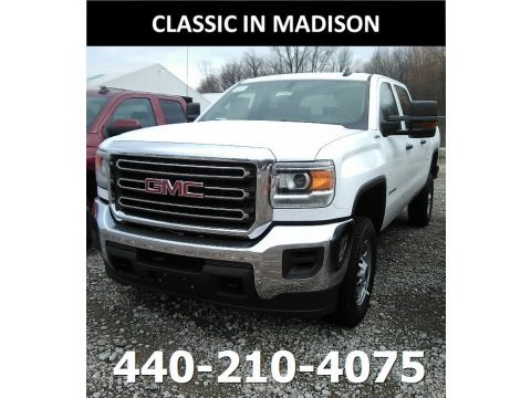 Summit White 2018 GMC Sierra 2500HD Crew Cab 4x4