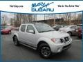 Nissan Frontier Pro-4X Crew Cab 4x4 Brilliant Silver photo #1