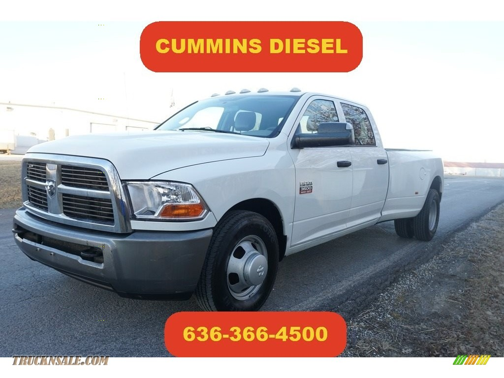 2011 Ram 3500 HD ST Crew Cab Dually - Bright White / Dark Slate Gray/Medium Graystone photo #1