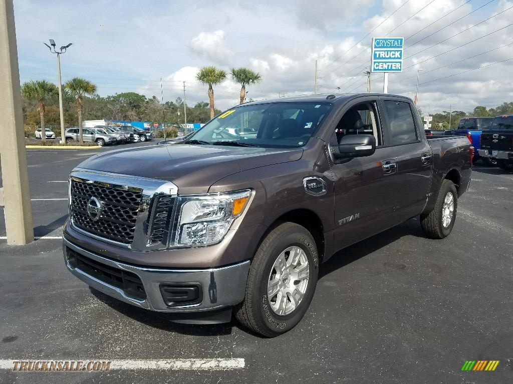 2017 Titan SV Crew Cab - Java Metallic / Black photo #1