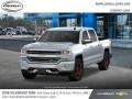 Chevrolet Silverado 1500 LTZ Crew Cab 4x4 Silver Ice Metallic photo #1
