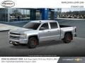 Chevrolet Silverado 1500 LTZ Crew Cab 4x4 Silver Ice Metallic photo #2