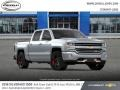 Chevrolet Silverado 1500 LTZ Crew Cab 4x4 Silver Ice Metallic photo #4