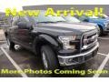 Ford F150 XLT SuperCrew 4x4 Shadow Black photo #1