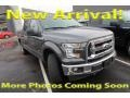 Ford F150 XLT SuperCrew 4x4 Lithium Gray photo #1