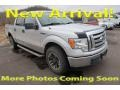 Ford F150 XLT SuperCrew 4x4 Brilliant Silver Metallic photo #1