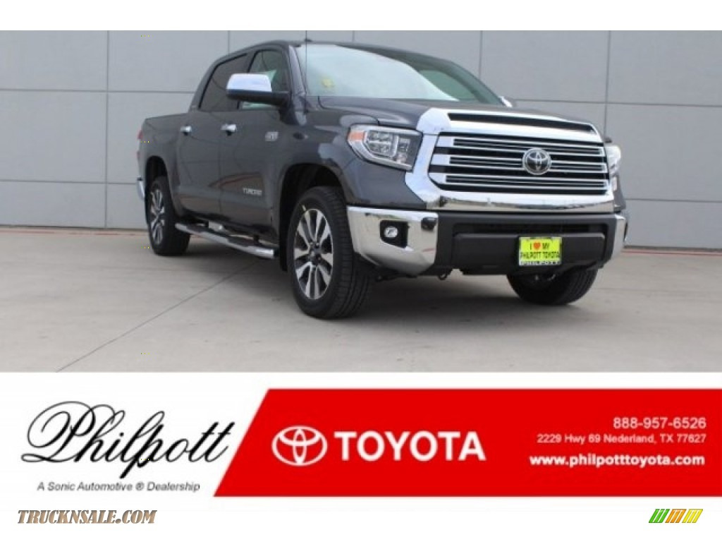 2018 Tundra Limited CrewMax - Magnetic Gray Metallic / Graphite photo #1
