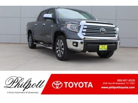Magnetic Gray Metallic 2018 Toyota Tundra Limited CrewMax