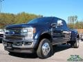 Ford F450 Super Duty King Ranch Crew Cab 4x4 Blue Jeans photo #1