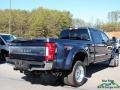 Ford F450 Super Duty King Ranch Crew Cab 4x4 Blue Jeans photo #5