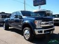 Ford F450 Super Duty King Ranch Crew Cab 4x4 Blue Jeans photo #7