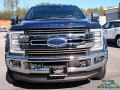 Ford F450 Super Duty King Ranch Crew Cab 4x4 Blue Jeans photo #8
