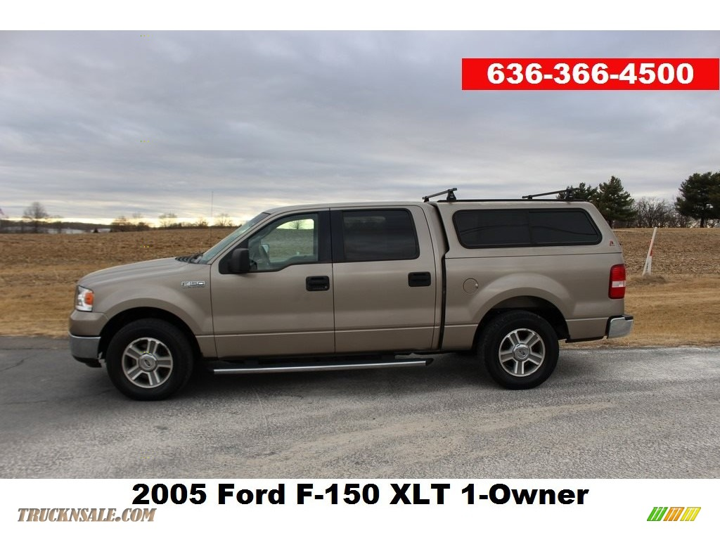 Arizona Beige Metallic / Tan Ford F150 XLT SuperCrew