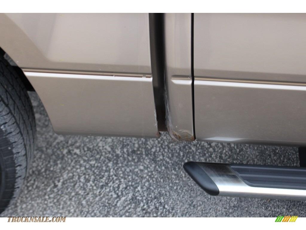 2005 F150 XLT SuperCrew - Arizona Beige Metallic / Tan photo #20