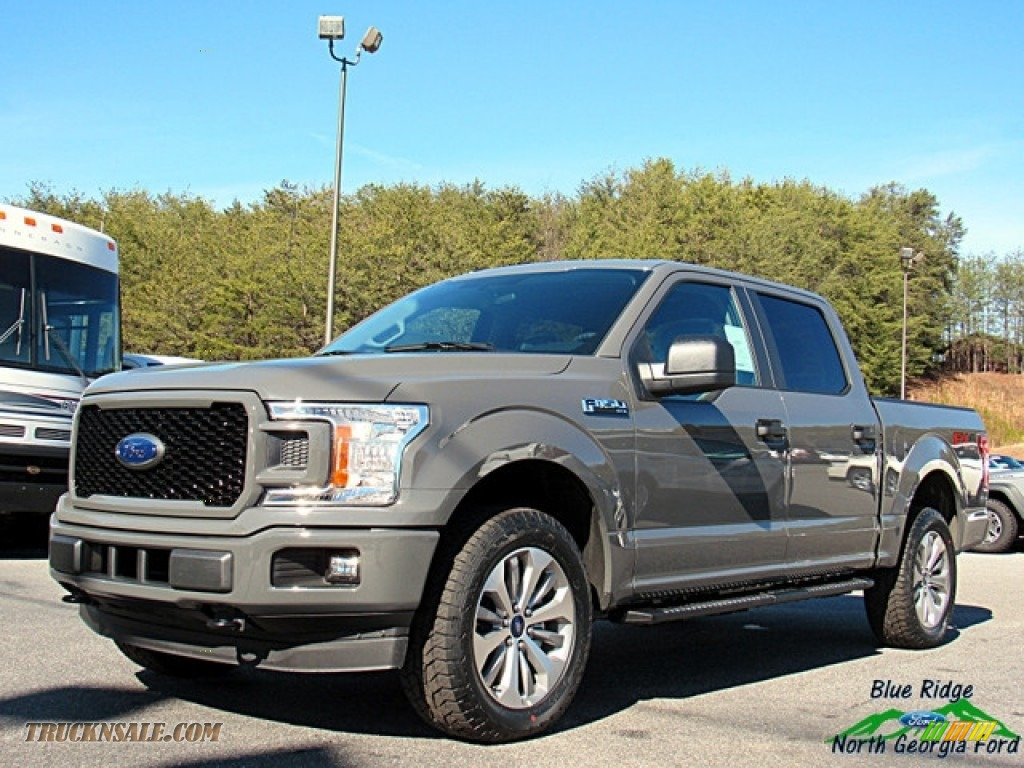 Lead Foot / Earth Gray Ford F150 STX SuperCrew 4x4