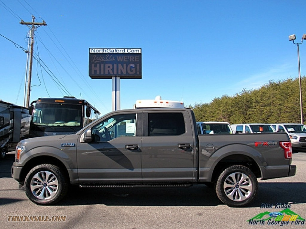 2018 F150 STX SuperCrew 4x4 - Lead Foot / Earth Gray photo #2