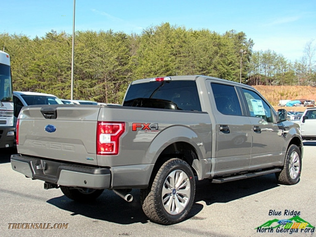 2018 F150 STX SuperCrew 4x4 - Lead Foot / Earth Gray photo #5
