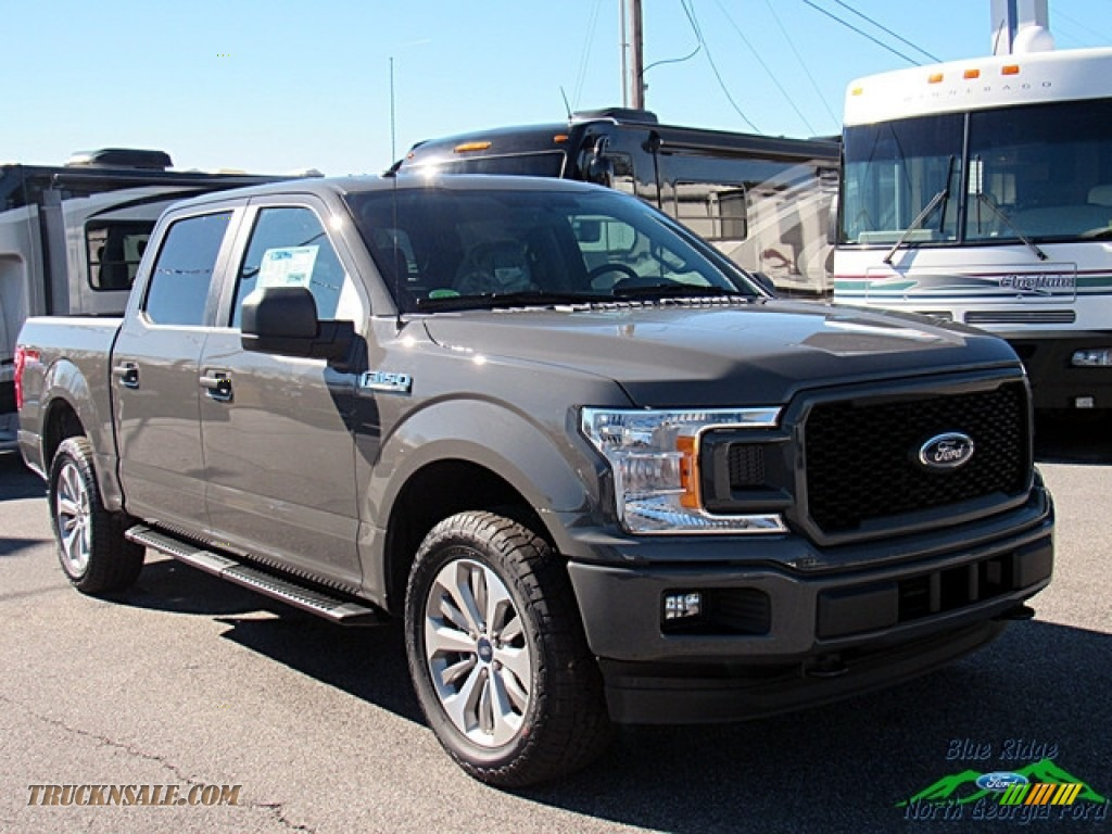 2018 F150 STX SuperCrew 4x4 - Lead Foot / Earth Gray photo #7