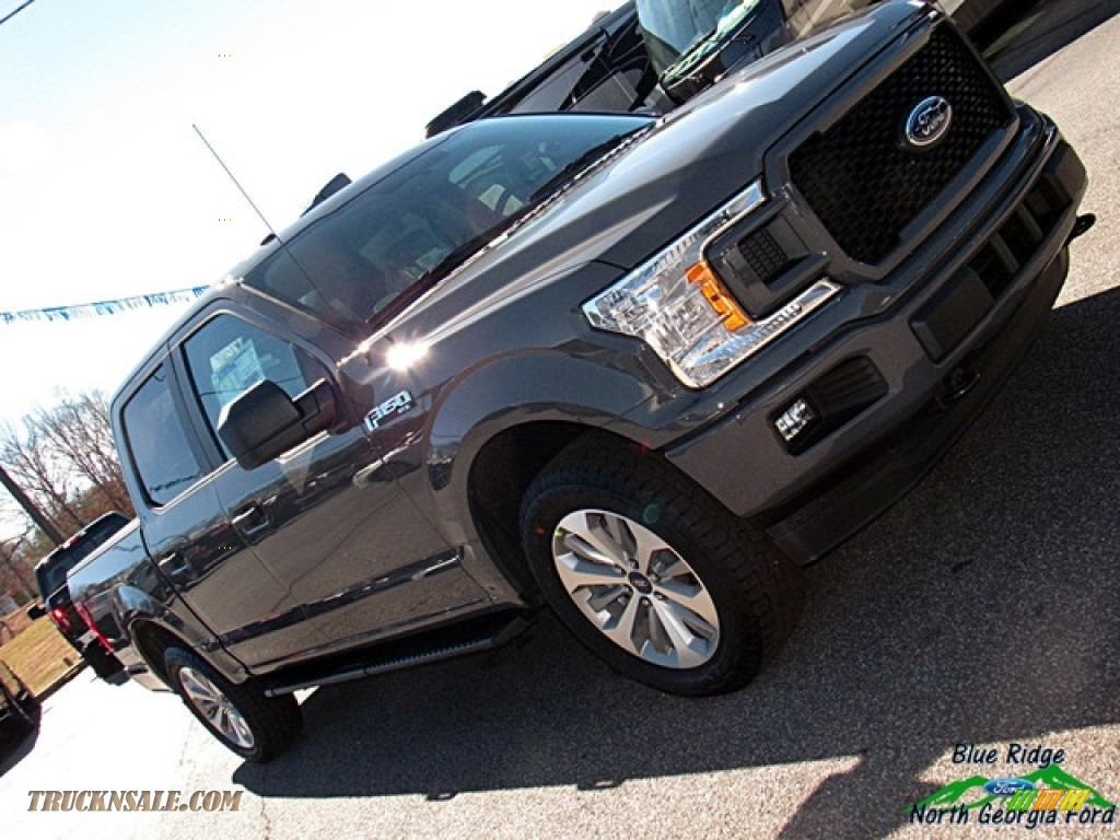 2018 F150 STX SuperCrew 4x4 - Lead Foot / Earth Gray photo #30