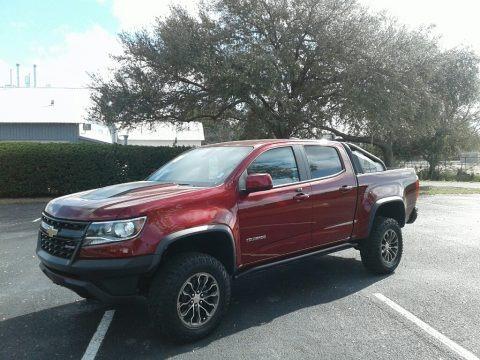 Cajun Red Tintcoat 2018 Chevrolet Colorado ZR2 Crew Cab 4x4