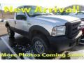 Ford F250 Super Duty XL Regular Cab 4x4 Silver Metallic photo #1