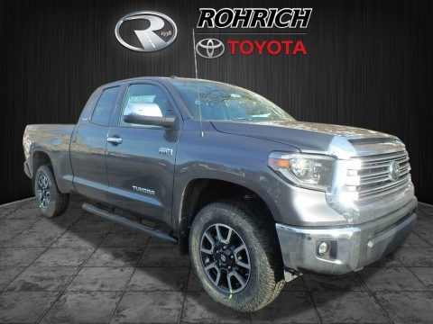 Magnetic Gray Metallic 2018 Toyota Tundra Limited Double Cab 4x4