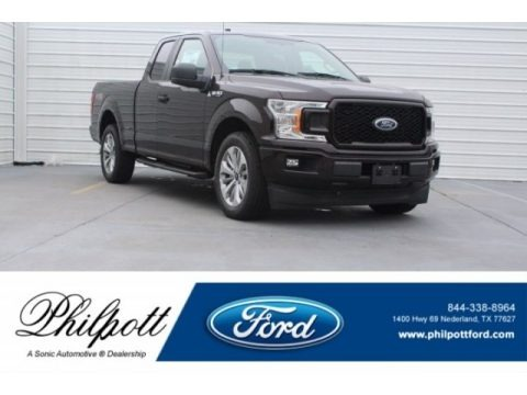 Magma Red 2018 Ford F150 STX SuperCab