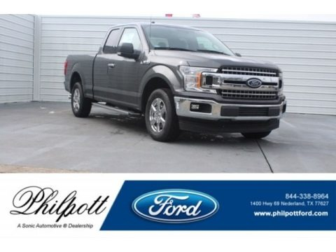 Magnetic 2018 Ford F150 XLT SuperCab